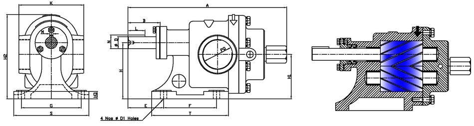 Bitumen Pump,Glycerine Pump,Lube Furnace Oil Pump Manufacturers